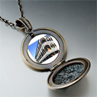 Necklace & Pendants - travel new orleans photo round flower pendant gifts for women necklace Image.