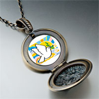 Necklace & Pendants - religion peace earth photo pendant necklace Image.