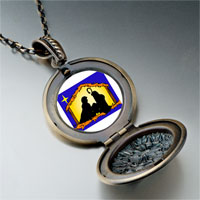 Necklace & Pendants - religion nativity photo pendant necklace Image.