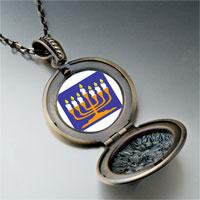 Necklace & Pendants - religion menorah photo pendant necklace Image.