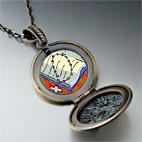 Necklace & Pendants - religion bible &  rosary photo pendant necklace Image.