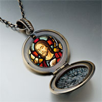 Necklace & Pendants - religion jesus photo pendant necklace Image.