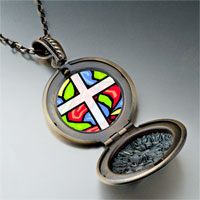 Necklace & Pendants - religion stained glass photo pendant necklace Image.