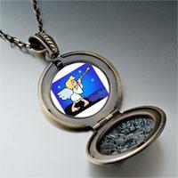Necklace & Pendants - religion angel &  horn photo pendant necklace Image.