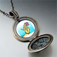 Necklace & Pendants - religion buddhism lotus photo pendant necklace Image.