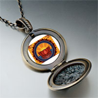 Necklace & Pendants - religion buddhism holy lotus photo pendant necklace Image.