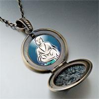 Necklace & Pendants - religion holy buddha lotus photo pendant necklace Image.