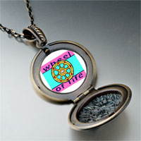 Necklace & Pendants - religion wheel life photo pendant necklace Image.