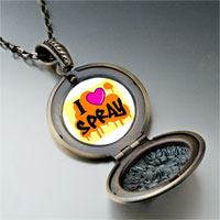 Necklace & Pendants - music love spray photo pendant necklace Image.