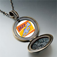 Necklace & Pendants - music jazz instrument photo pendant necklace Image.