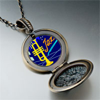 Necklace & Pendants - music jazz trumpet photo pendant necklace Image.