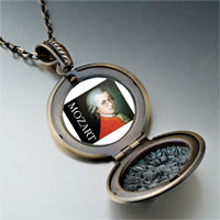 Necklace & Pendants - music mozart photo pendant necklace Image.