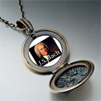 Necklace & Pendants - music j bach photo pendant necklace Image.