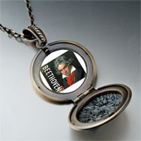 Necklace & Pendants - music beethoven photo pendant necklace Image.