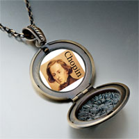 Necklace & Pendants - music chopin photo pendant necklace Image.