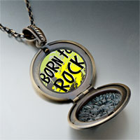 Necklace & Pendants - music theme born to rock photo pendant necklace Image.