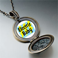 Necklace & Pendants - music theme electric baby photo pendant necklace Image.