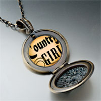 Necklace & Pendants - music theme country girl photo pendant necklace Image.