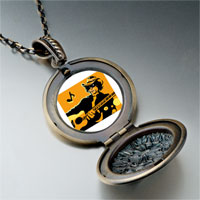Necklace & Pendants - music theme country singer photo pendant necklace Image.