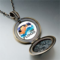 Necklace & Pendants - nature 2008  flood photo pendant necklace Image.