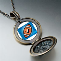 Necklace & Pendants - sports football photo pendant necklace Image.