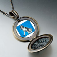 Necklace & Pendants - animal theme dog photo pendant necklace Image.