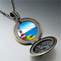 Necklace & Pendants - travel &  culture lighthouse photo pendant necklace Image.