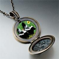 Necklace & Pendants - wildlife skunk photo pendant necklace Image.