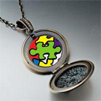 Necklace & Pendants - word autism photo pendant necklace Image.