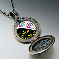 Necklace & Pendants - travel color guard photo pendant necklace Image.