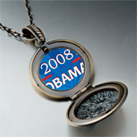 Necklace & Pendants - character obama photo pendant necklace Image.