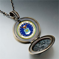 Necklace & Pendants - phrase seal air force photo pendant necklace Image.