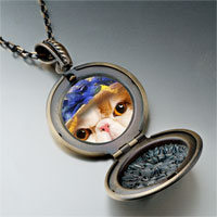Necklace & Pendants - kitten photo italian pendant necklace Image.