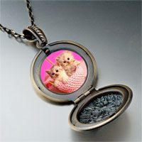 Necklace & Pendants - kittens photo italian pendant necklace Image.