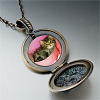Necklace & Pendants - tabby cat photo italian pendant necklace Image.