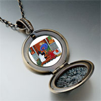 Necklace & Pendants - happy hallowmas photo italian pendant necklace Image.