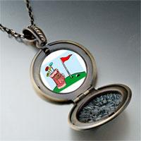 Necklace & Pendants - cartoon clubs bag photo italian pendant necklace Image.