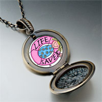 Necklace & Pendants - life saver photo italian pendant necklace Image.