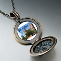 Necklace & Pendants - birmingham scene photo italian pendant necklace Image.