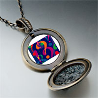 Necklace & Pendants - hundred thousand whys photo italian pendant necklace Image.