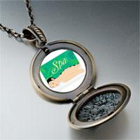 Necklace & Pendants - spa photo italian pendant necklace Image.