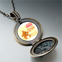 Necklace & Pendants - christmas jewelry bear windbell photo italian pendant necklace Image.