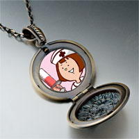 Necklace & Pendants - nurse photo italian pendant necklace Image.