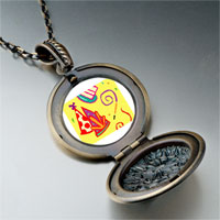 Necklace & Pendants - hand painting photo italian pendant necklace Image.