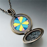 Necklace & Pendants - multi color geometric figure star photo italian pendant necklace Image.