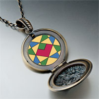 Necklace & Pendants - multicolor geometric figure photo italian pendant necklace Image.