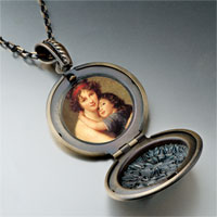 Necklace & Pendants - mom child photo pendant necklace Image.