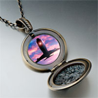 Necklace & Pendants - airplane photo italian pendant necklace Image.