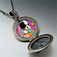 Necklace & Pendants - poodle present photo italian pendant necklace Image.