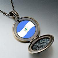 Necklace & Pendants - nicaragua flag photo italian pendant necklace Image.